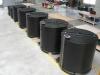 Ensemble de cuves PEHD pour mélange effluents