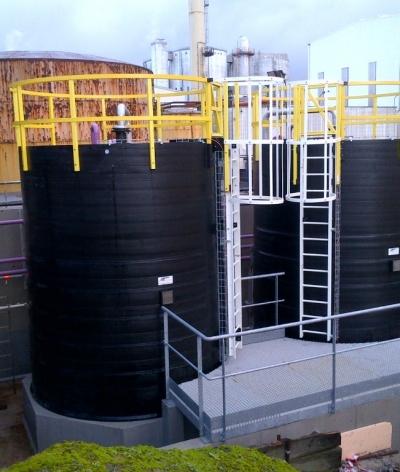 Fabrication de 2 cuves 20m3 pour stockage H2SO4 96%