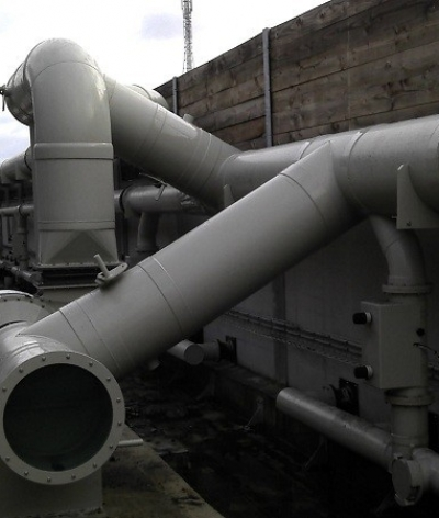 Tuyauteries PPh ventilation