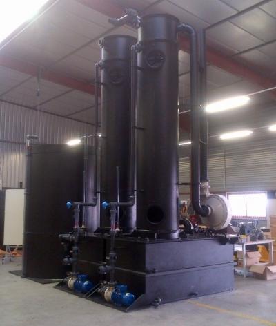 Equipements PEHD pour lavage de gaz