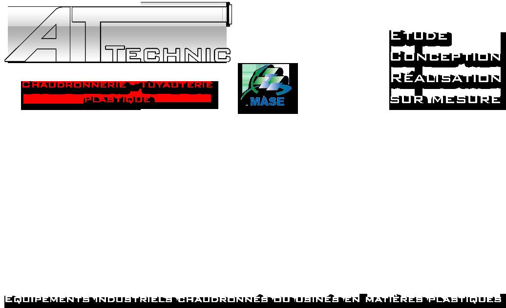 AT-TECHNIC Chaudronnerie plastique & Tuyauterie plastique